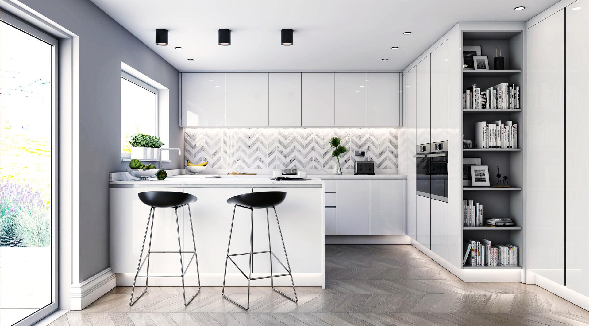 Bespoke Custom Kitchen Design London New Line Kitchen Design